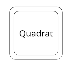 Quadrat mousepad form standard format 19 x 19 cm PDF