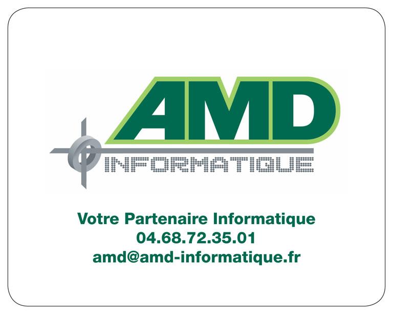 referenzen kundenbeispiele mousepads bedrucken lassen individuell zufriedene Kunden mit Logo AMD